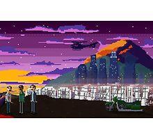 GTA V Pixeled - Los Santos by Christian Geldart