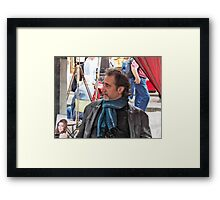 Ah, The French..... Framed Print