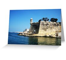 Lookout Tower - Malta Greeting Card