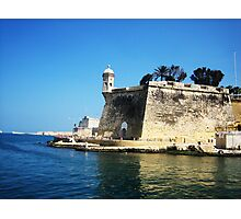 Lookout Tower - Malta Photographic Print