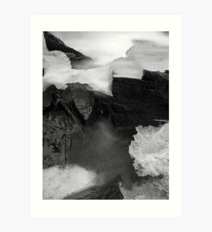 Ice Bridge Art Print
