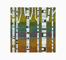 Birches with Chartreuse and Teal Unisex T-Shirt
