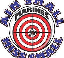 AIM SMALL MISS SMALL - MARINES by MontanaJack
