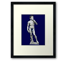 The David... Tennant Framed Print