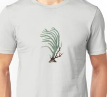Antique Sea Coral Illustration Unisex T-Shirt