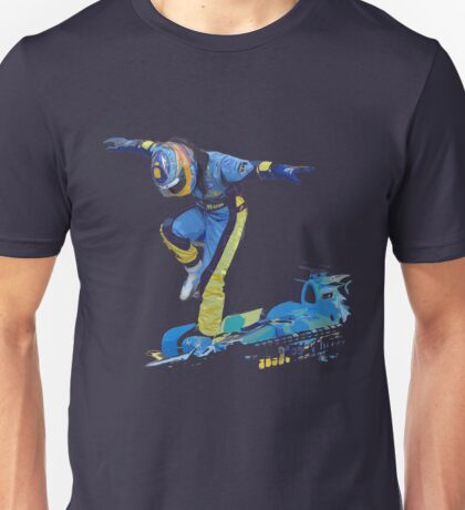 Fernando Alonso 2006 Celebration Unisex T-Shirt