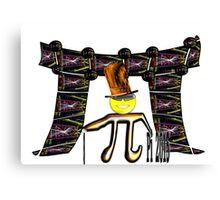 Pi 2015 LHC Canvas Print