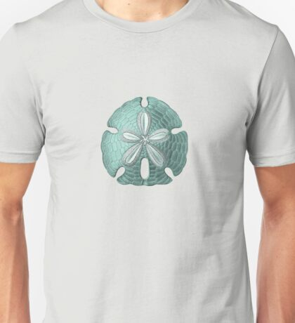 Antique Sea Sand Dollar Illustration Unisex T-Shirt
