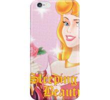 Pink Sleeping Beauty iPhone Case/Skin