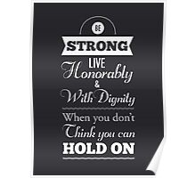 Be Strong Poster