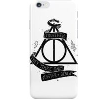 Harry Potter - Deathly Hallows iPhone Case/Skin