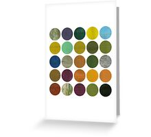 Rustic Rounds 6.0 Greeting Card