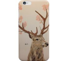 Blossomed Stag iPhone Case/Skin