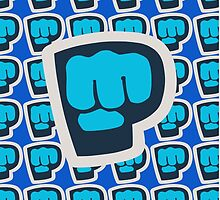 PewDiePie - Brofist Pattern by givenchyhowell