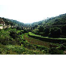 Maltese Countryside Photographic Print