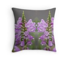 The Obedience Flower Throw Pillow