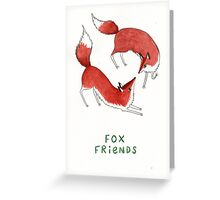 Fox Friends Greeting Card