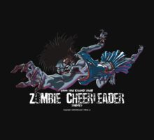 Zombie Cheerleader by SEspider