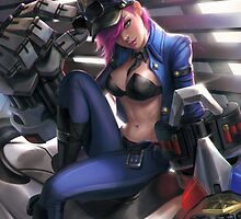 Officer Vi - League of Legends by MindxCrush