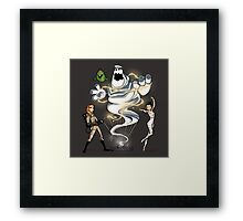 The Stay Frost Marshmallow Framed Print