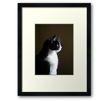 In Thought Framed Print