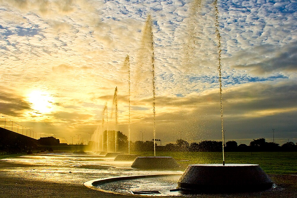 Fountains of Gold by Jase036