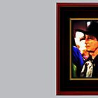 """""""Mysterious Stranger in Town"""" ... with a canvas and framed look for prints and products by © Bob Hall"""