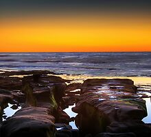 Californian Sunset Beach by MissSunshine