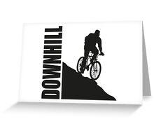 Downhill Greeting Card