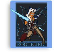 Rogue Jedi Canvas Print