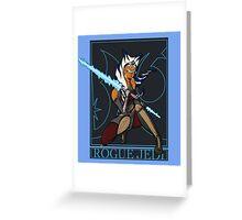 Rogue Jedi Greeting Card
