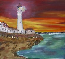 Lighthouse by James Bryron Love