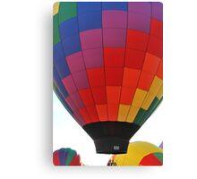 Hot Air Balloon Flame Canvas Print