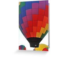 Hot Air Balloon Flame Greeting Card