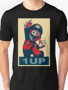1up - Super mario obama icon style T-Shirt
