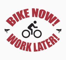 Bike now work later by nektarinchen