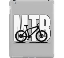 MTB - Mountainbike iPad Case/Skin