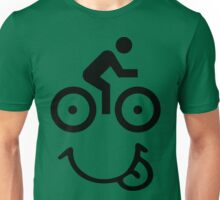Bicycle Face Unisex T-Shirt