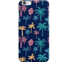 Tropical Palm Tree Pattern iPhone Case/Skin