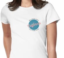 We Grew Here, You Flew Here California Womens Fitted T-Shirt