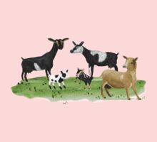 Dairy Goats Kids Clothes