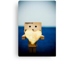 Crisps, the Food of Love Canvas Print