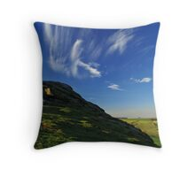 At Great Alms Cliff 2 Throw Pillow