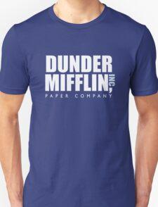 Dunder Mifflin The Office Logo Unisex T-Shirt