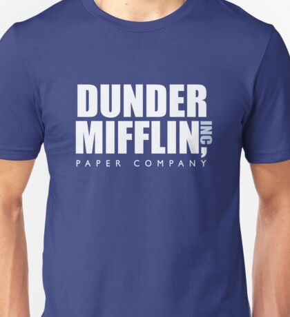 Dunder Mifflin The Office Logo Unisex T-Shirt