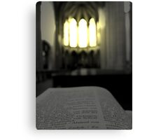 The light ... the hope Canvas Print