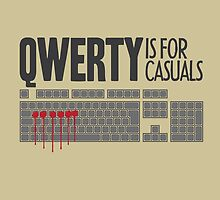 QWERTY is for casuals by KillDeathRatio
