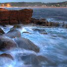 The Rocky Sea at Avoca in HDR by Mike Salway