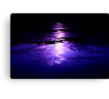midnight oil Canvas Print