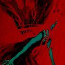 MothLady In Crimson by Ashley Huston